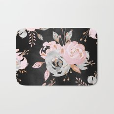 Night Roses 2 Bath Mat