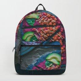 Black Pizza Backpack