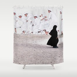 Arabs crossing Shower Curtain