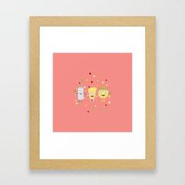 Tequila Fiesta Party Guys T-Shirt Ds074 Framed Art Print