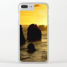 Sunset over the Twelve Apostles - Australia Clear iPhone Case