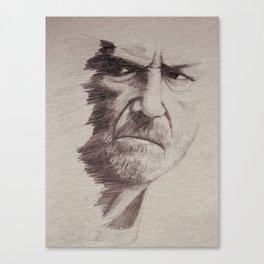 HALF FACE II Canvas Print