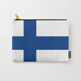 Flag of finland Carry-All Pouch