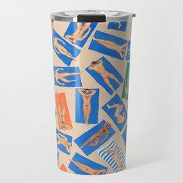 DUDE BEACH, by Frank-Joseph Travel Mug