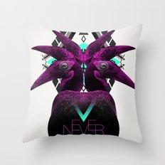 ::Never Landing:: Throw Pillow