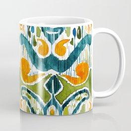 sugarsnap balinese ikat Coffee Mug