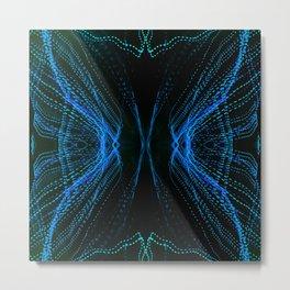219 - Abstract lights design Metal Print