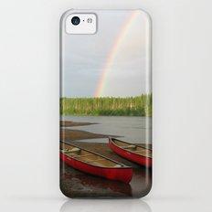 Double Rainbow iPhone 5c Slim Case
