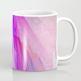 Pink sunset in the glowing city Coffee Mug