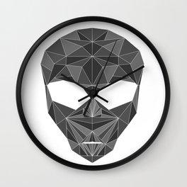 lowpolycyberalien Wall Clock