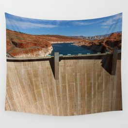 Glen Canyon Dam and Lake Powell Wall Tapestry