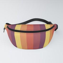 Retro Stripes Fanny Pack