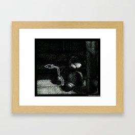 Favorite Toy Framed Art Print