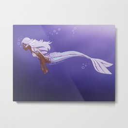 Mermaid Allura Metal Print