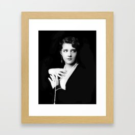 Ruby Keeler by Alfred Cheney Johnston Framed Art Print