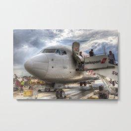 Pegasus Boeing 737 Metal Print