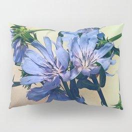 Blue Wildflower Pillow Sham