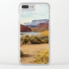 Lee's Ferry, Arizona Clear iPhone Case