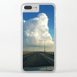 Cloud Candy Clear iPhone Case