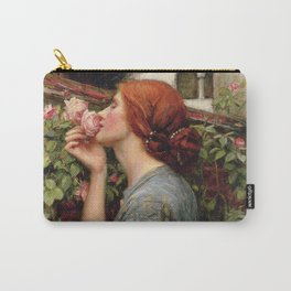 John William Waterhouse, My Sweet Rose, 1908 Carry-All Pouch
