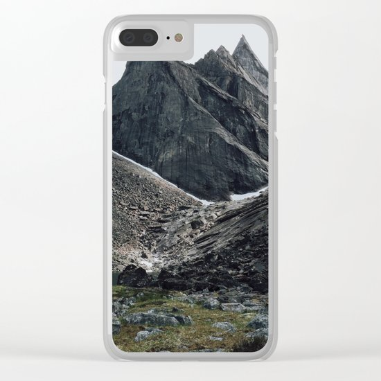 Arrigetch Clear iPhone Case