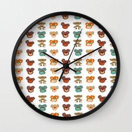 Teddy Slaves Wall Clock