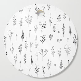 Wildflowers Cutting Board