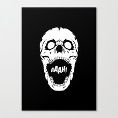 Say AAAH! Canvas Print