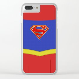Superheroes phone | Supergirl #1 version Clear iPhone Case