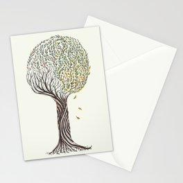 season tree Stationery Cards