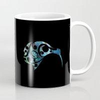 kiwi Mugs featuring Kiwi by Boz Designs