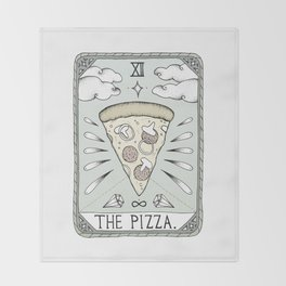 The Pizza Throw Blanket