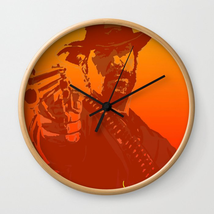 red dead Wall Clock