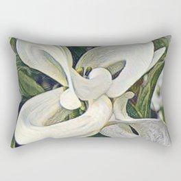 Magic Dogwood. Rectangular Pillow