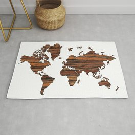 World Map 2 Rug
