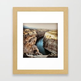 Devils Canyon II Framed Art Print