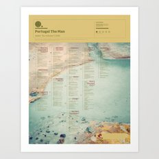 "The Visual Mixtape 2010 | Waiter: ""You Vultures!"" | 13 / 25 Art Print"