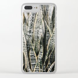 Plant Photography Tropical Exotic Plants Snake Tongue Beauty Wild Nature Clear iPhone Case