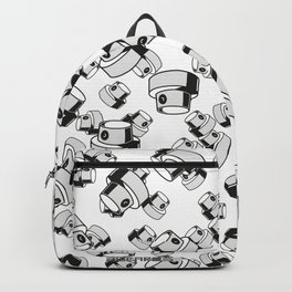 fat caps flow style Backpack