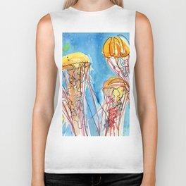 Jellyfish Biker Tank