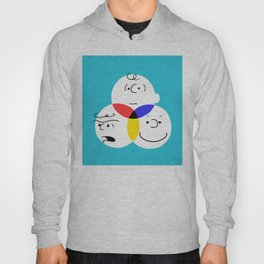Charlie Brown, colour wheel Hoody