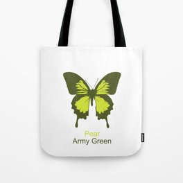 Ulysses Butterfly 11 Tote Bag