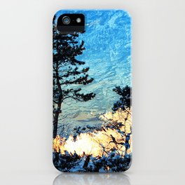SHINING II iPhone Case