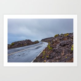 The Endless Road Art Print