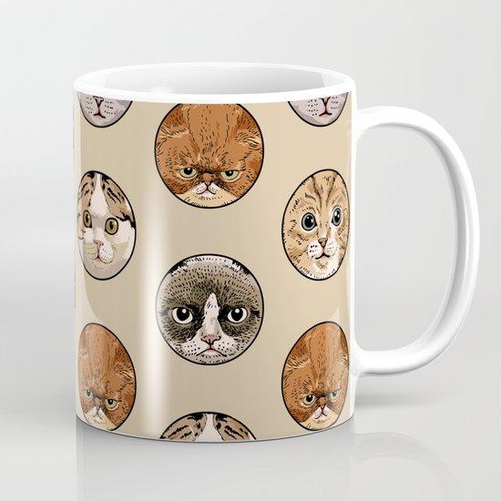 Polka Meaw Mug