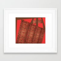 tote Framed Art Prints featuring Tote by Jose Luis