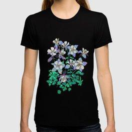 Rainbow Columbine  T-shirt