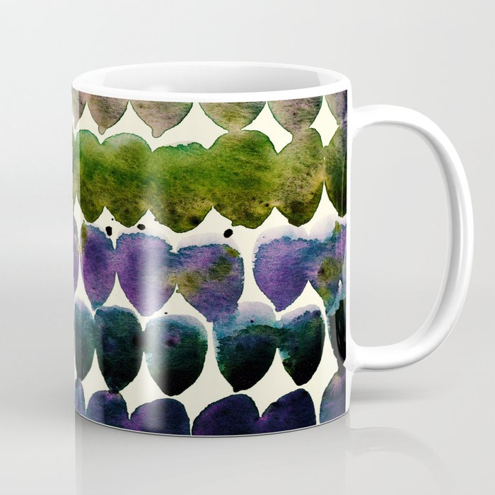 Color Jewels 9-2u by Kathy Morton Stanion Coffee Mug