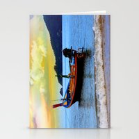 thailand Stationery Cards featuring  thailand by mark ashkenazi