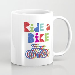 Ride a Bike - Sketchy Coffee Mug